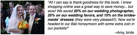 Testimonial from Amy, Bride