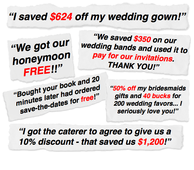 Testimonials from Happy Budget Brides
